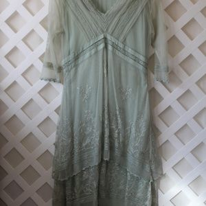 nataya dress sage small